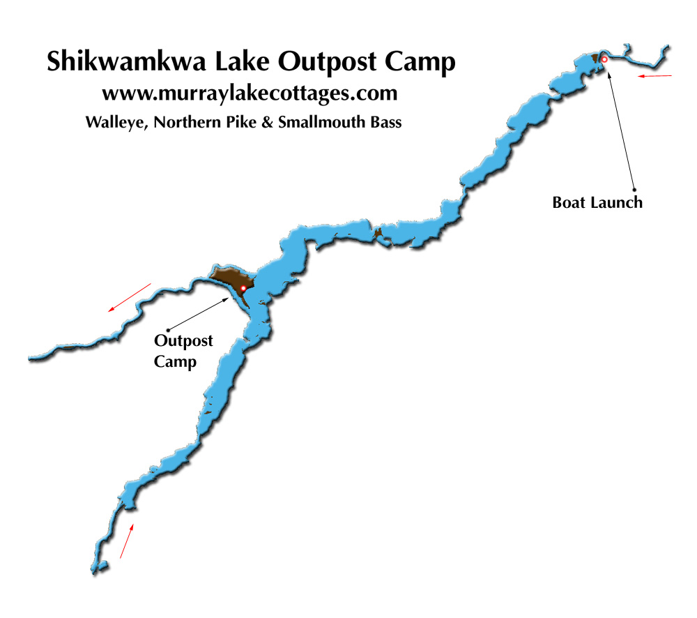 Map Of Lake Murray Islands
